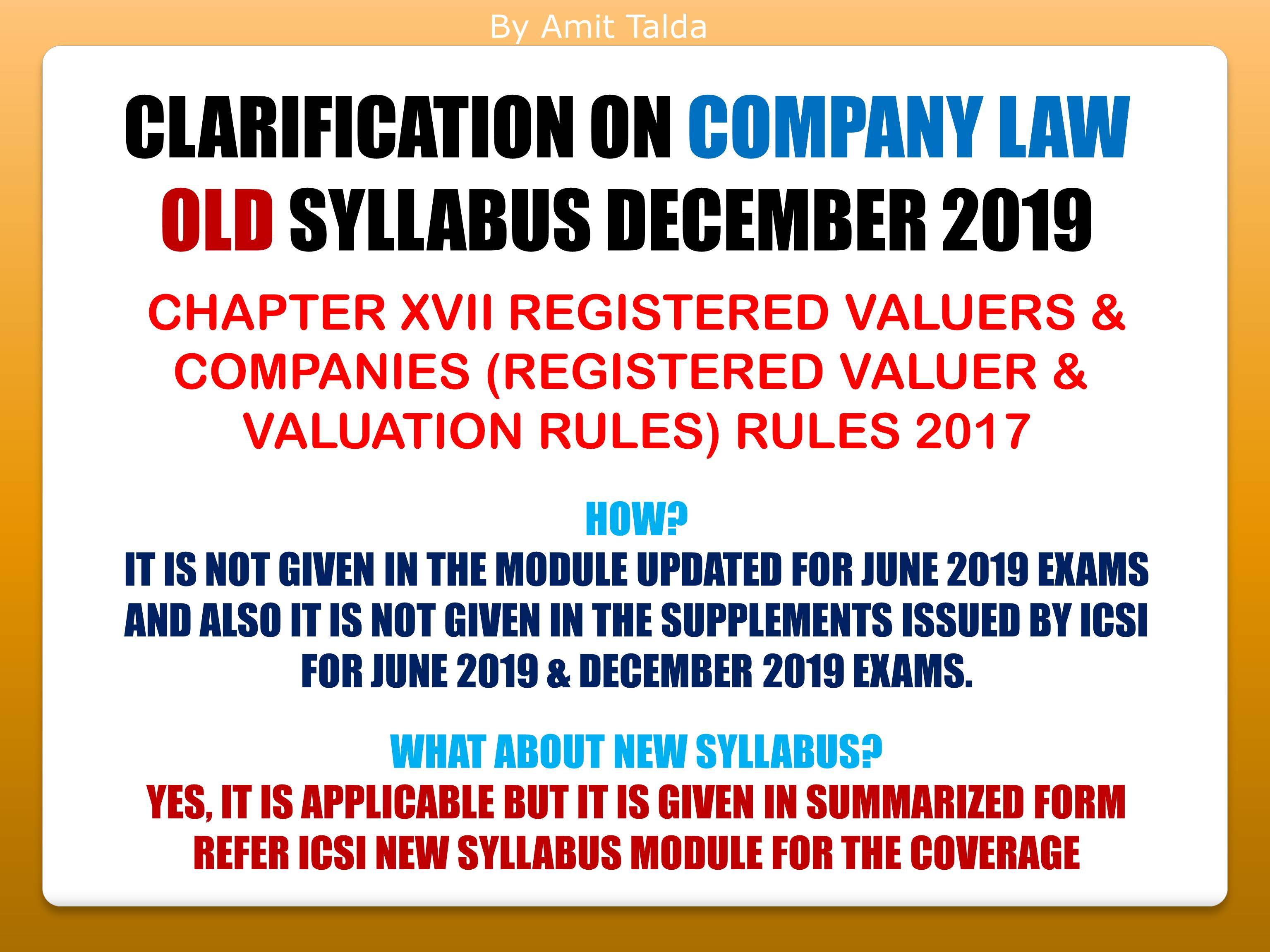 REGISTERED VALUER